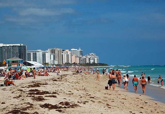 Ocean Drive Miami Beach Florida