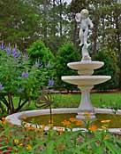 Garden Fountain - Eden Gardens State Park, Florida