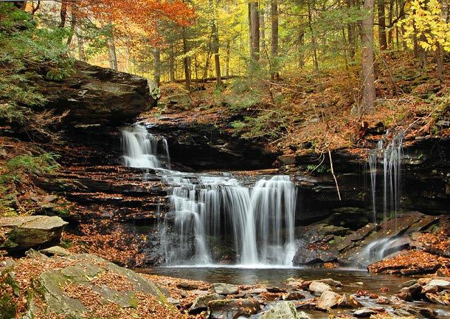 Ricketts Glen State Park Pennsylvania