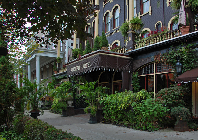 Adelphi Hotel Saratoga Springs New York