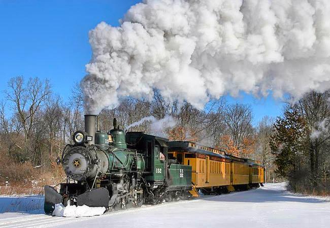 Huckleberry Railroad - Michigan