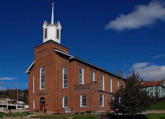Mother's Day Shrine, Andrews Methodist Episcopal Church - Grafton, West Virginia