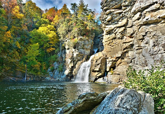 Image result for linville Gorge and Falls